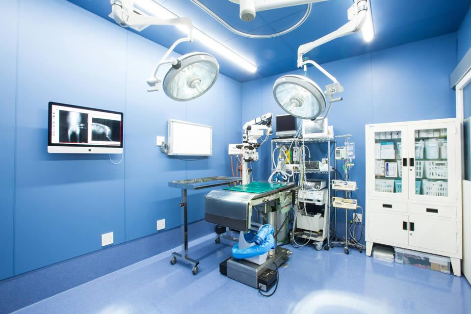 陽圧換気手術室